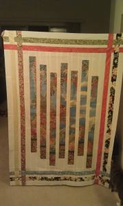 Fractured Panel Quilt!