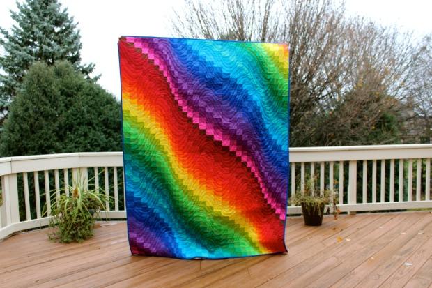 Make It Rain(bow) Bargello Quilts! – Lemon Quilts