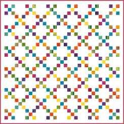 scrappy-rainbow-irish-chain-quilt